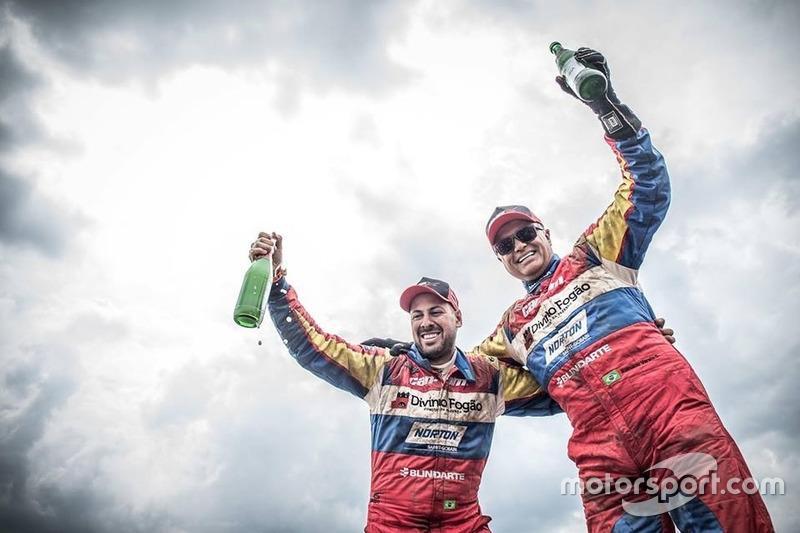 Переможці #356 Can-Am SxS: Густаво Гужелмін, Рейналдо Варела