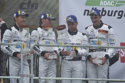 Podio: al terzo posto #5 Mercedes-AMG Team Black Falcon Mercedes-AMG GT3: Yelmer Buurman, Thomas Jäger, Jan Seyffarth, Luca Stolz