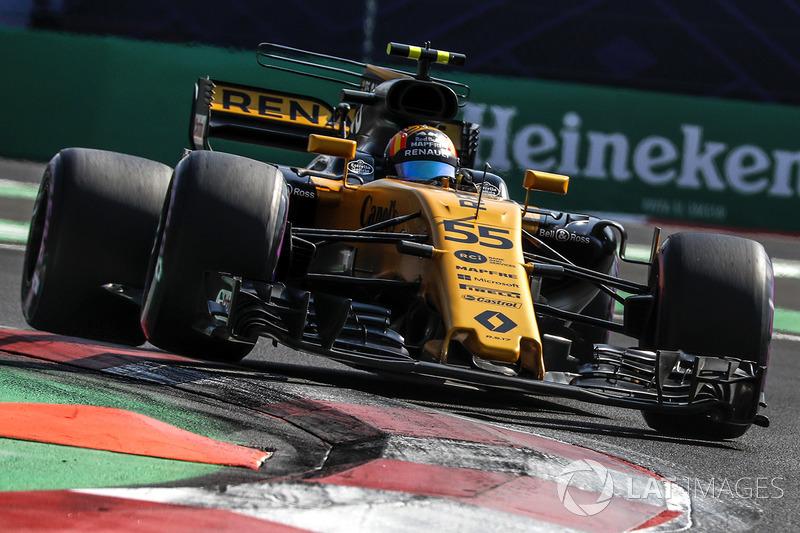 Ausfall: Carlos Sainz Jr., Renault Sport F1 Team RS17