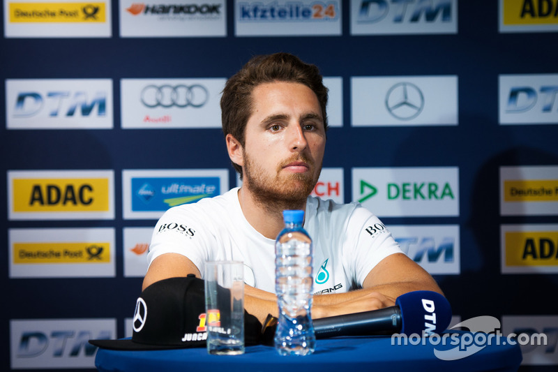 Conferenza stampa: Daniel Juncadella, Mercedes-AMG Team HWA, Mercedes-AMG C63 DTM