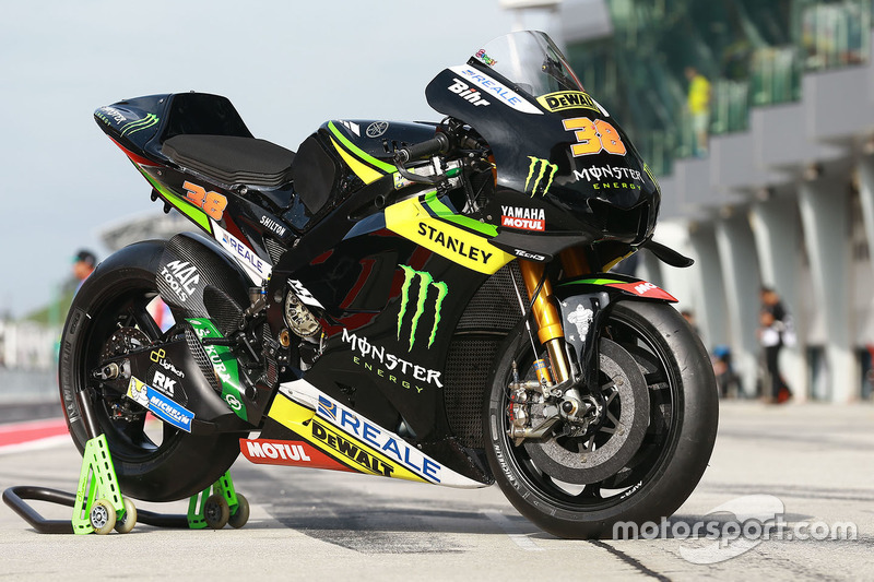 Bike von Bradley Smith, Monster Yamaha Tech 3