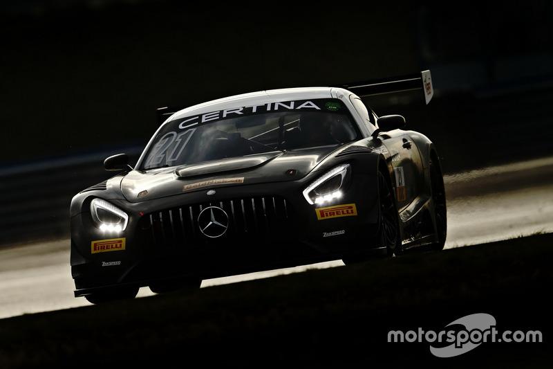 #21 AMG - Team Zakspeed, Mercedes-AMG GT3: Nikolaj Rogivue