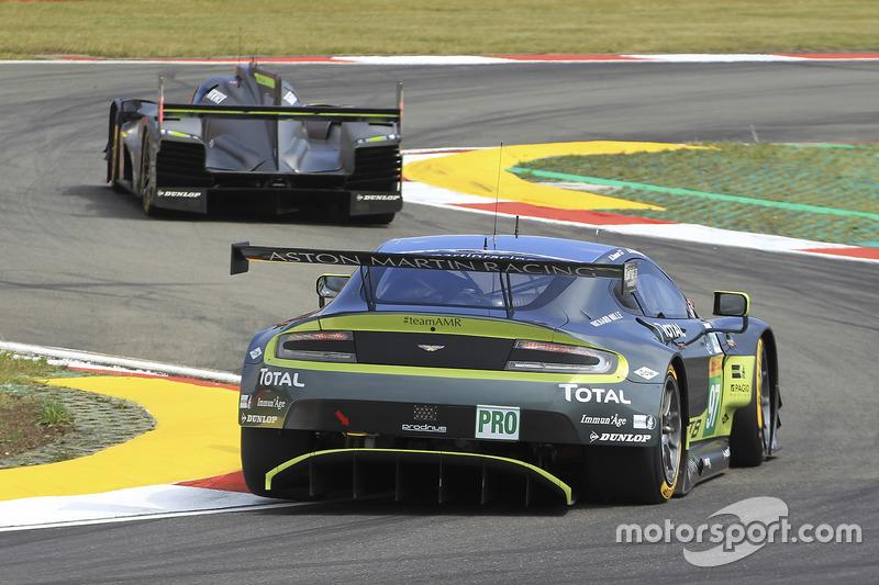 #97 Aston Martin Racing, Aston Martin Vantage GTE: Richie Stanaway, Darren Turner