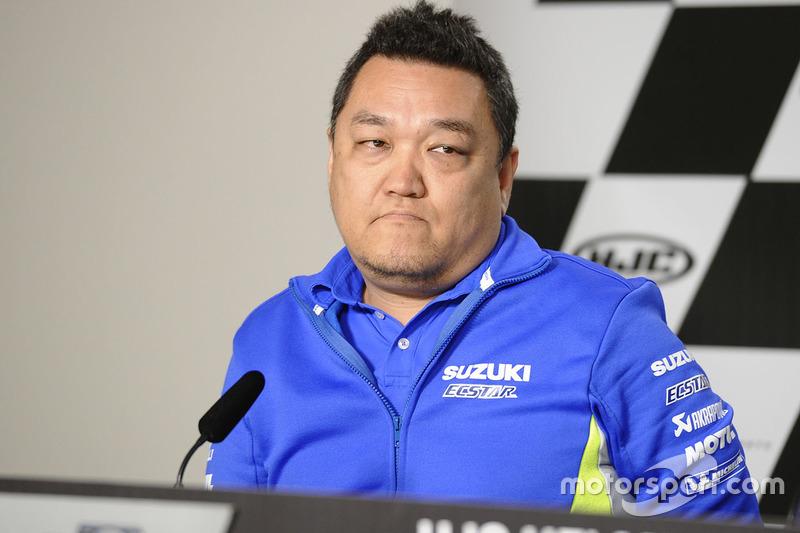 Ken Kawauchi, Technical Manager Team Suzuki MotoGP