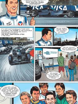 La Formula E secondo Michel Vaillant