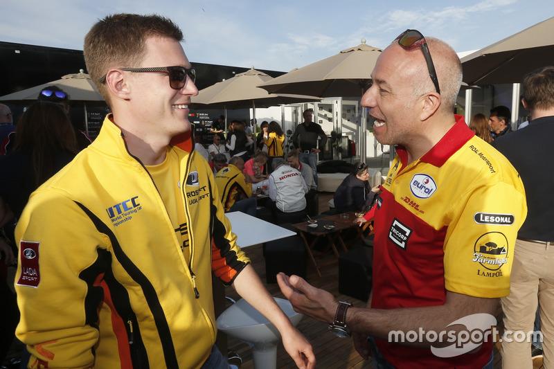 Нікі Катсбург, LADA Sport Rosneft та Том Коронель, Roal Motorsport