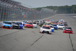 Start: Erik Jones, Joe Gibbs Racing, Toyota, führt