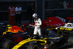 Sergey Sirotkin, Williams Racing, in Parc Ferme