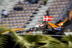 Tom Kristensen of Team Nordic driving the Ariel Atom Cup