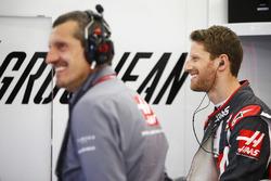 Guenther Steiner, Takım Patronu, Haas F1 ve Romain Grosjean, Haas F1 Team