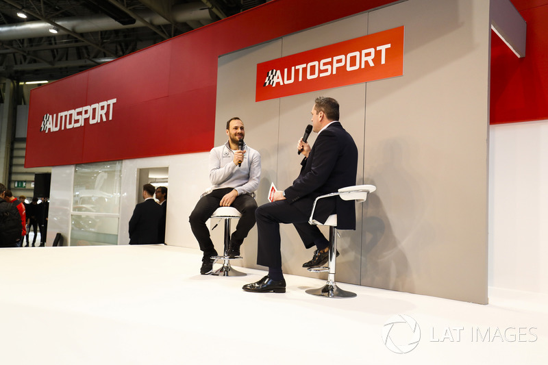 Gary Paffett meets Henry Hope-Frost on the Autosport Stage