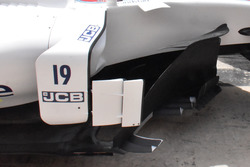 Williams FW40: Windabweiser