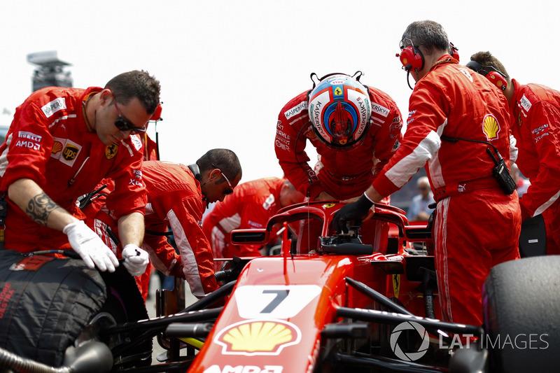 3e : Kimi Räikkönen (Ferrari)