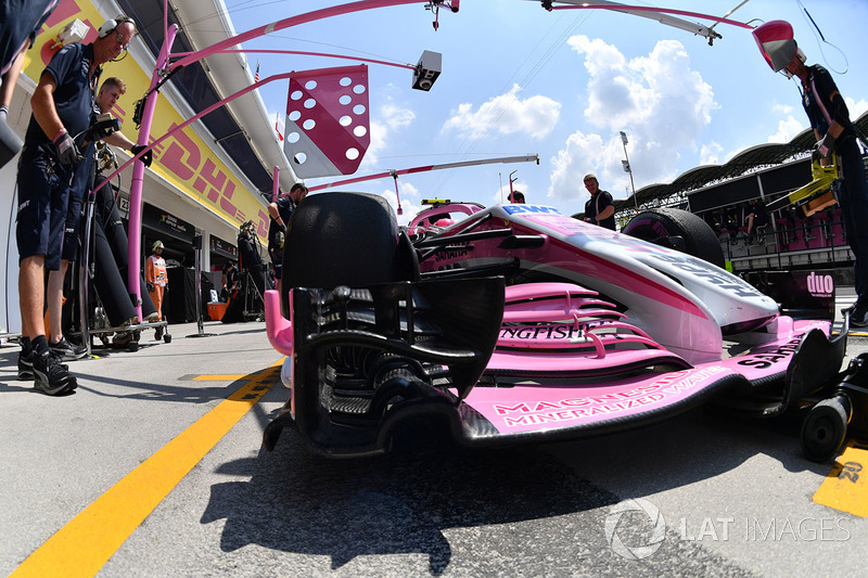 Естебан Окон, Force India VJM11