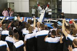 Winner WTCC trophy, Tom Chilton, Sébastien Loeb Racing, Citroën C-Elysée WTCC