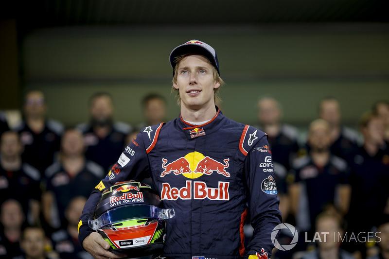 Toro Rosso, Brendon Hartley: 28 yaşında