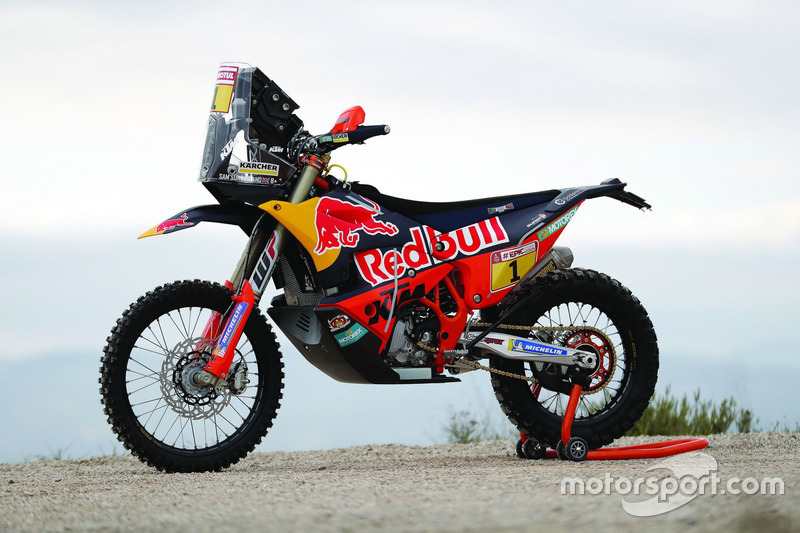 La moto de Sam Sunderland, Red Bull KTM Factory Team