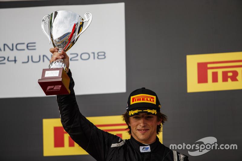 Roberto Merhi, est parvenu à finir troisième mais a été disqualifié