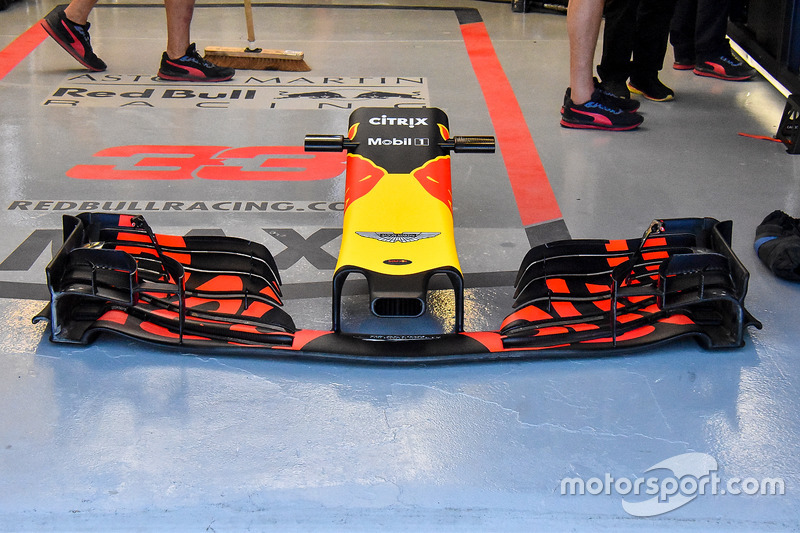 Red Bull Racing RB14 nose