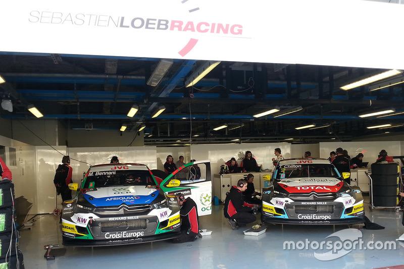 Mehdi Bennani, Sébastien Loeb Racing, Citroën C-Elysée WTCC and Tom Chilton, Sébastien Loeb Racing,