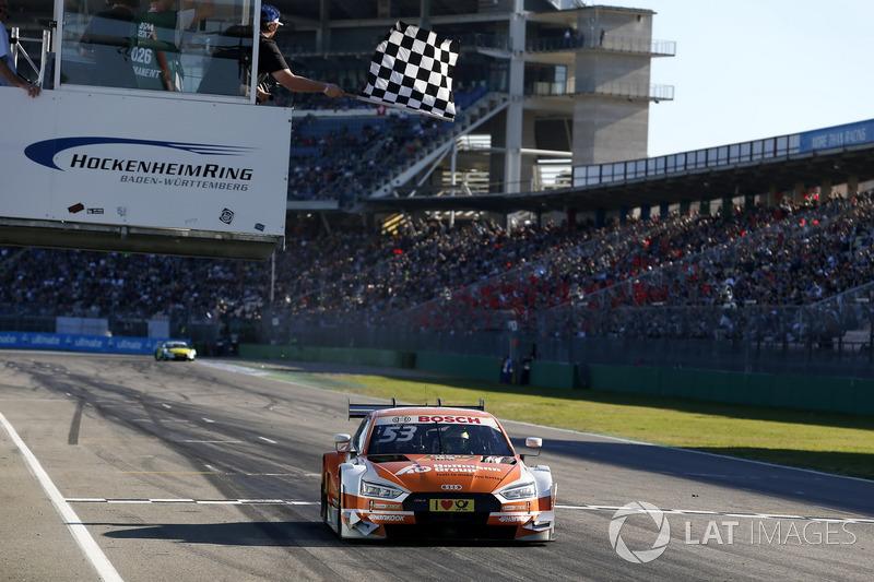 Картатий прапор для Джеймі Гріна, Audi Sport Team Rosberg, Audi RS 5 DTM