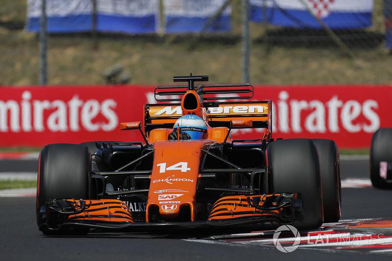 10 місце — Фернандо Алонсо (Іспанія, McLaren) — коефіцієнт 1001,00