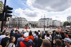 Strecke für Formel-1-Showrun in London
