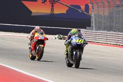 Valentino Rossi, Yamaha Factory Racing, Dani Pedrosa, Repsol Honda Team