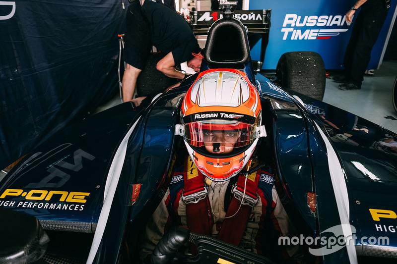Luca Ghiotto,RUSSIAN TIME