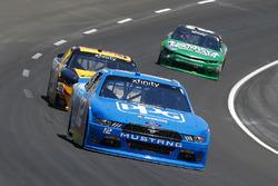 Joey Logano, Team Penske Ford and Alex Labbé, King Autosport Chevrolet