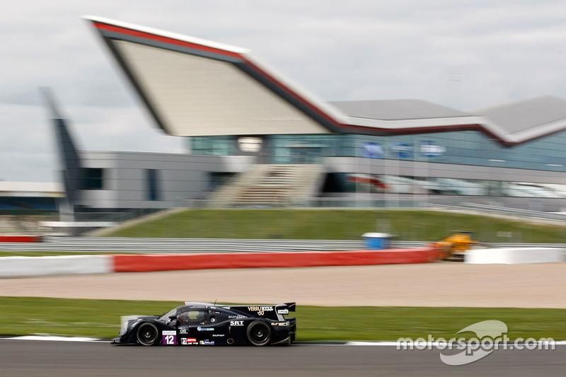 #12 Eurointernational, Ligier JS P3 - Nissan: Andrea Dromedari, Marco Jacoboni, Riccardo Dona