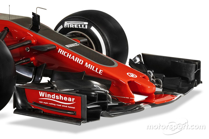 Haas F1 Team VF-17 detalle