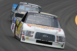 Regan Smith, Ricky Benton Racing Ford and Parker Kligerman, Henderson Motorsports Toyota