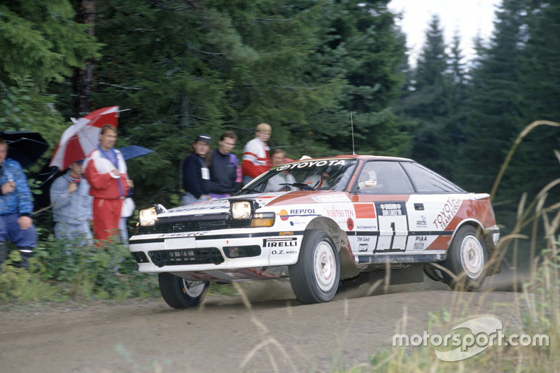 Mikael Ericsson, Claes Billstam, Toyota Celica GT-4
