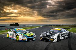 #100 BMW Team SRM, BMW M6 GT3: Steve Richards, James Bergmuller; #101 BMW Team SRM, BMW M6 GT3: Danny Stutterd, Sam Fillmore