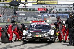 Pit stop, René Rast, Audi Sport Team Rosberg, Audi RS 5 DTM