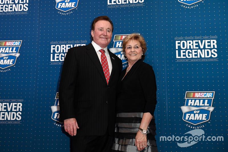Richard Childress y su esposa, Judy