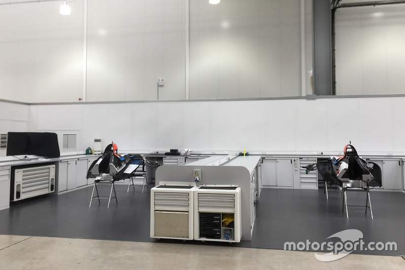 Manor Racing chasis 2017