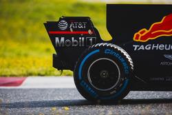 L'arrière de la voiture de Max Verstappen, Red Bull Racing RB13