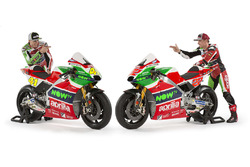 Aleix Espargaro, Aprilia Racing Team Gresini; Sam Lowes, Aprilia Racing Team Gresini