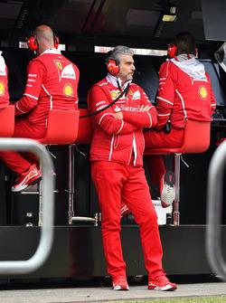 Maurizio Arrivabene, Ferrari-Teamchef
