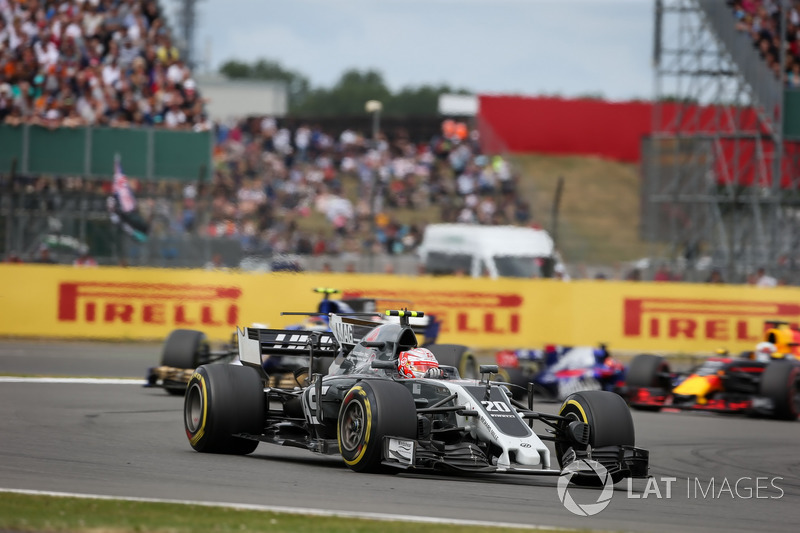 12e Kevin Magnussen, Haas F1