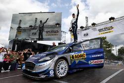 Ganadores Ott Tänak, Martin Järveoja, Ford Fiesta WRC, M-Sport