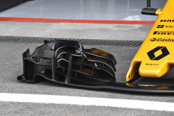 Aileron avant de la Renault Sport F1 Team RS17