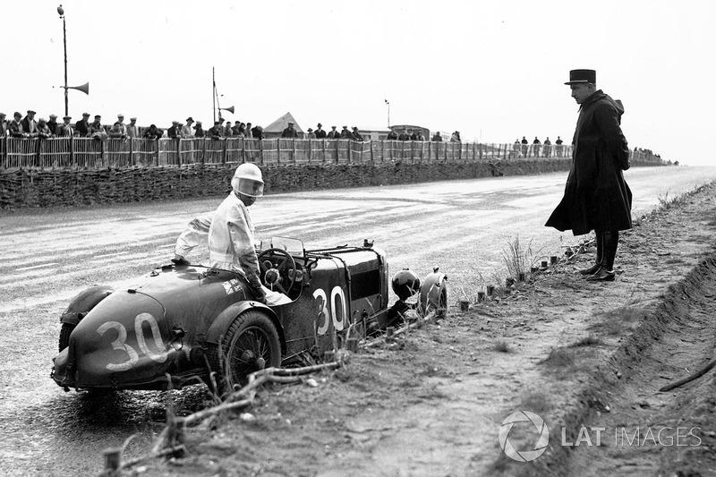 1935 год. Экипаж Голди Гарднера и Эй-Си Белоу, Aston Martin Ulster