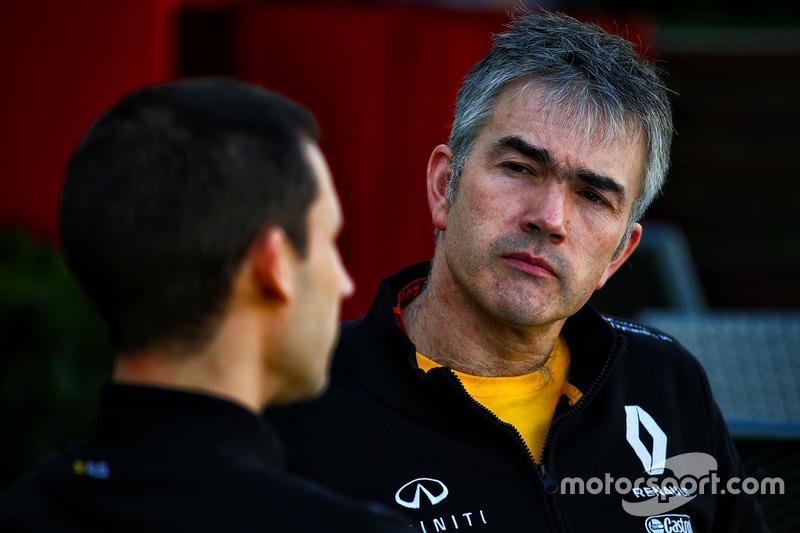 Nick Chester, Renault Sport F1 Team, Technikchef