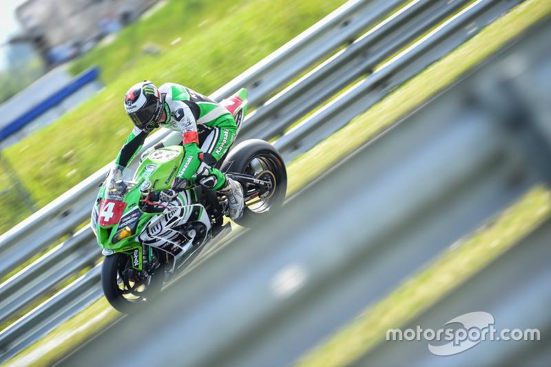#4 Tati Team Beaujolais Racing, Kawasaki ZX 10R: Julien Enjolras, Dylan Buisson, Hugo Clere