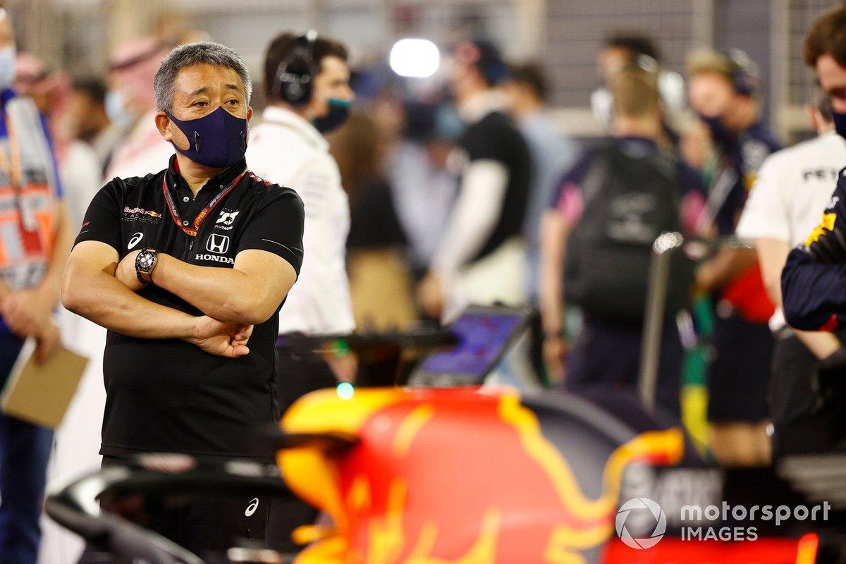 Masashi Yamamoto, jefe de Honda para la Fórmula 1.