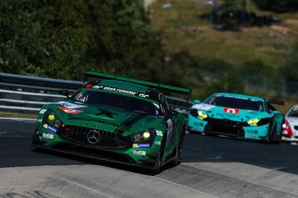 #6 Black Falcon Mercedes-AMG GT3: Hubert Haupt, Adam Christodoulou, Manuel Metzger, Gabriele Piana