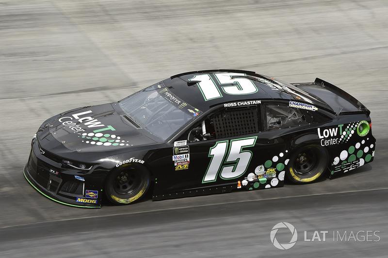 35. Ross Chastain, Premium Motorsports, Chevrolet Camaro LowT Center